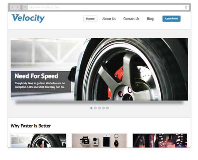 Velocity Theme