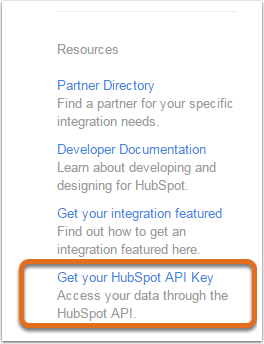 Integrationen API-Schlüssel abrufen