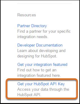 obtenir la clé API des intégrations