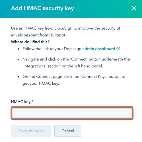 DocuSign-HMAC-key
