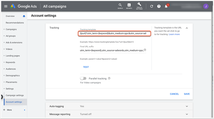 update-google-ads-tracking-template