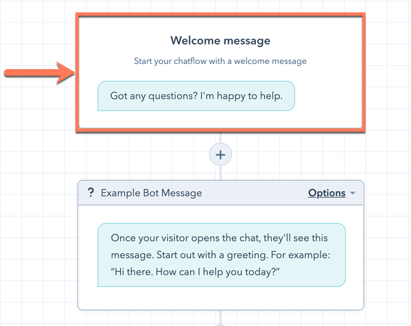 welcome-message-in-bot-editor