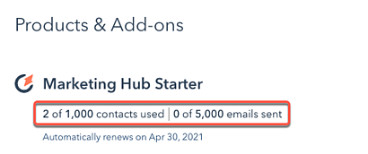 account-and-billing-email-contact-limits