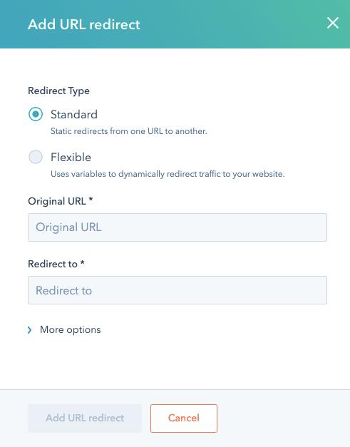 add-url-redirect