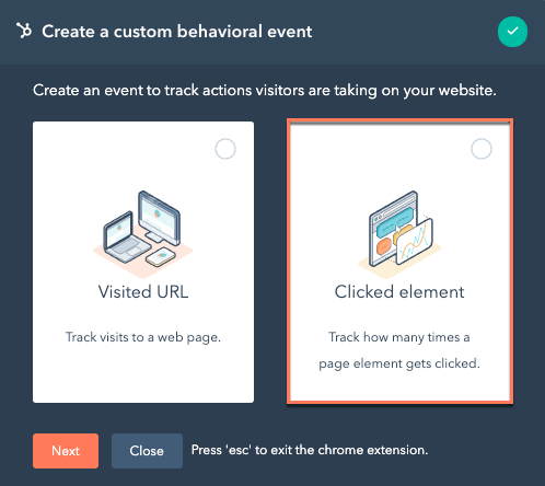 chrome-extension-create-clicked-element-event