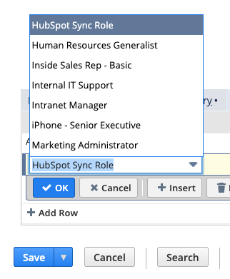 hubspot-sync-role-netsuite