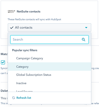 netsuite-data-sync-filters