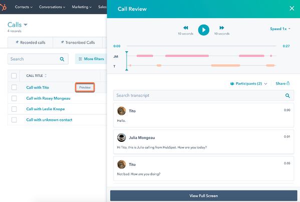preview-call-review-tool