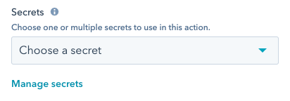 workflow-custom-code-action-secrets