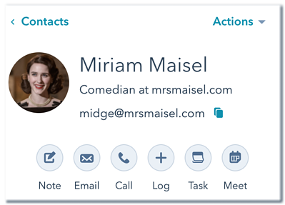 contact-record-actions-view