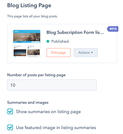 edit-settings-for-blog-listing-page