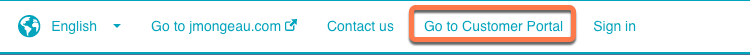 go-to-customer-portal