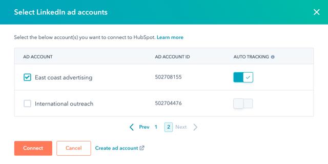 select-linkedin-ad-account-modal