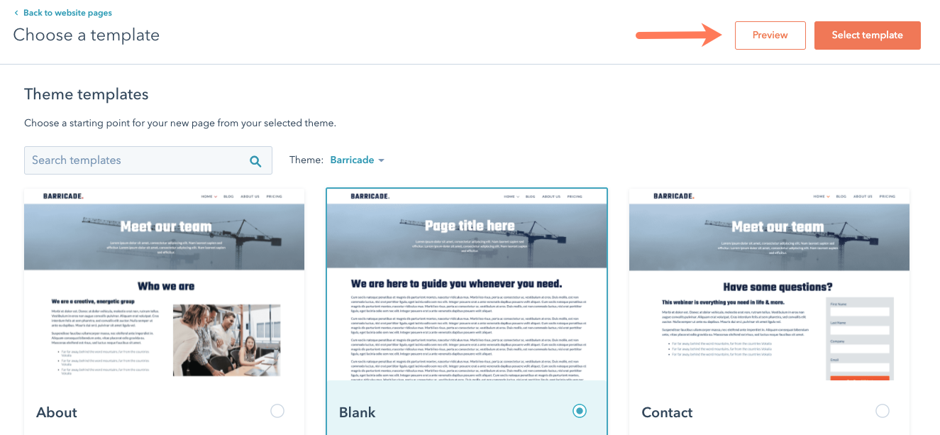 select-template-from-active-theme