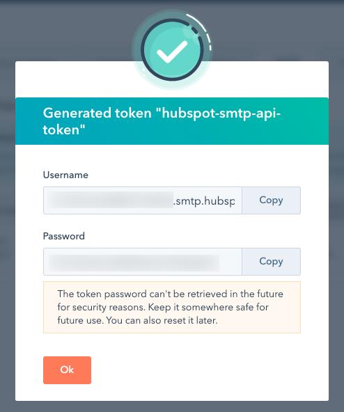 smtp-token-generated-modal