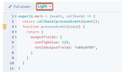 workflow-custom-code-action-test0