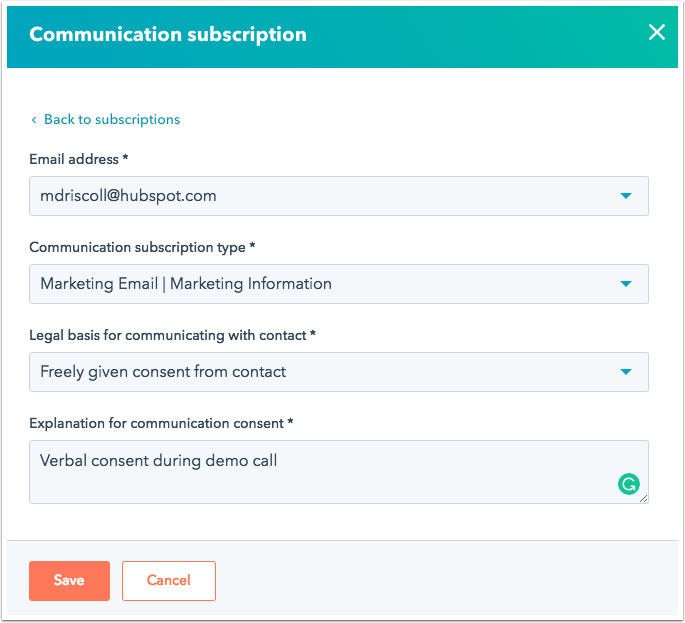 communication-subscription