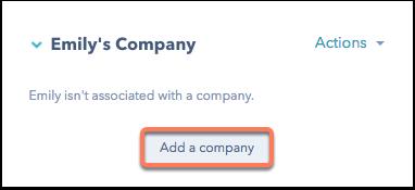 Agregar una empresa