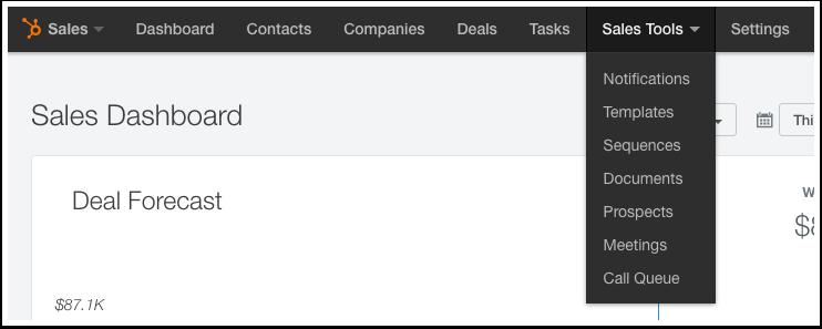 HubSpot-Hilfeartikel – Screenshot