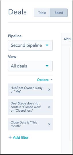 Negocios en HubSpot CRM