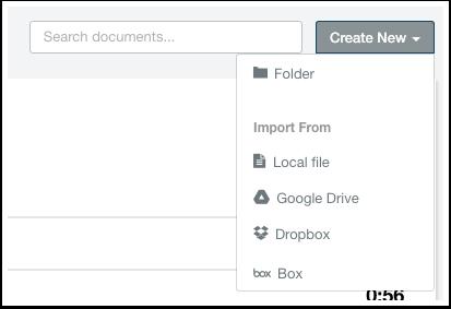 HubSpot Sales – Dokumente – Dokumente importieren