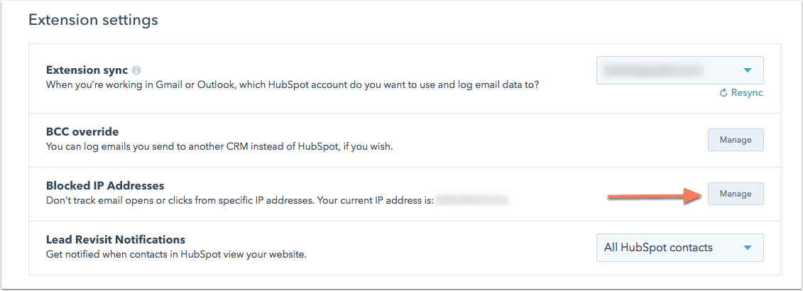 Gesperrte IP-Adressen hinzufügen