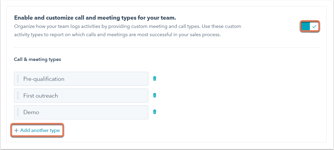 Create and use call and meeting types
