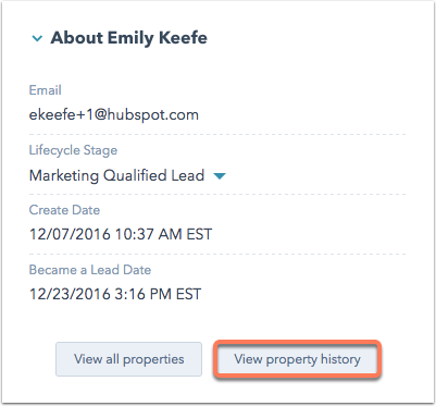 View property history