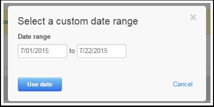 Forms Custom Date Range