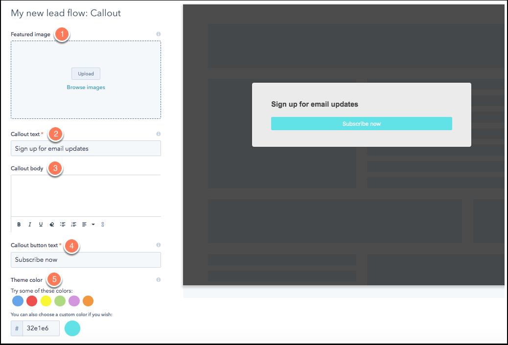 Capture d'écran article de support HubSpot