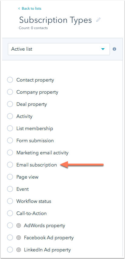 email-subscription-types