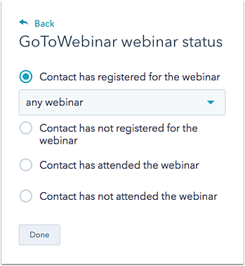 use hubspot s integration with gotowebinar