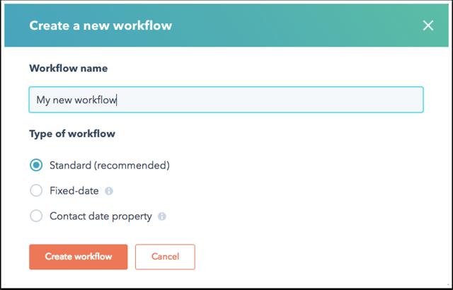 So erstellen Sie einen Workflow