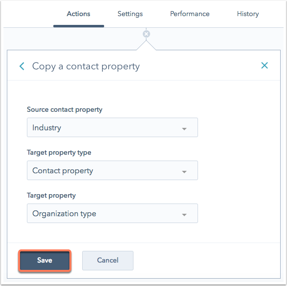 Copy enumeration to text in workflows