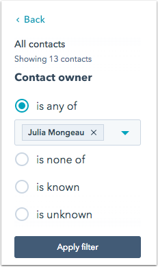 contacts-owner-crm-filter