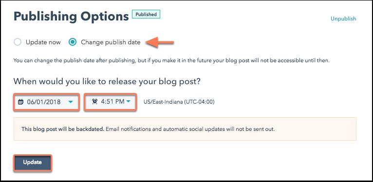 change-publish-time