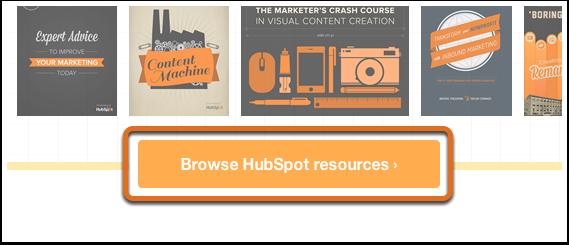 CTA recursos HubSpot