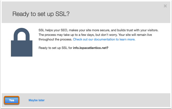 Enable-SSL-Confirmation