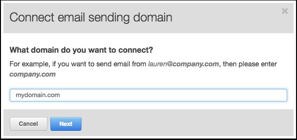 Wie verknüpfe ich meine E-Mail-Versanddomain mit HubSpot?