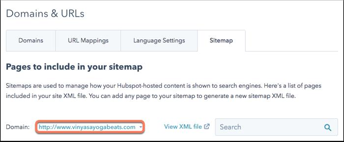 sitemap-settings