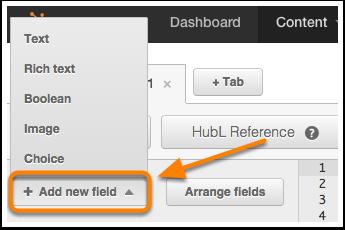 Agregar campo de módulo personalizado