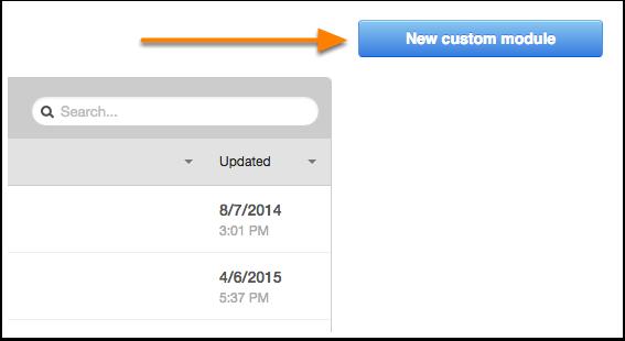 Nuevo módulo personalizado