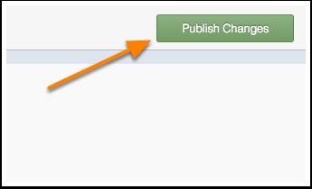 Publicar cambios