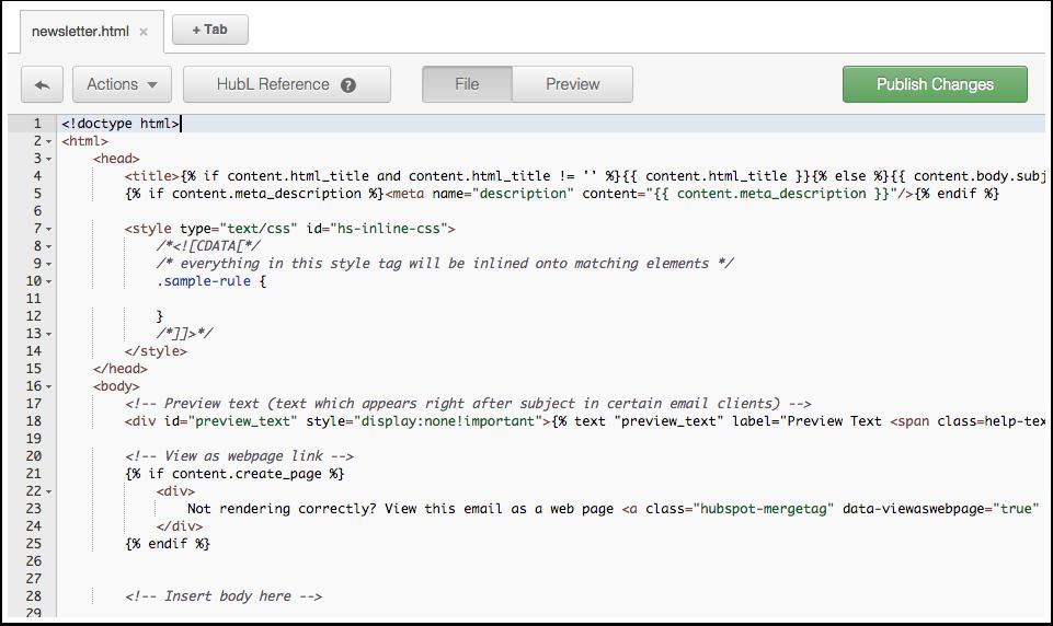 Gewusst wie so erstellen sie eine benutzerdefinierte e for Html code for email template
