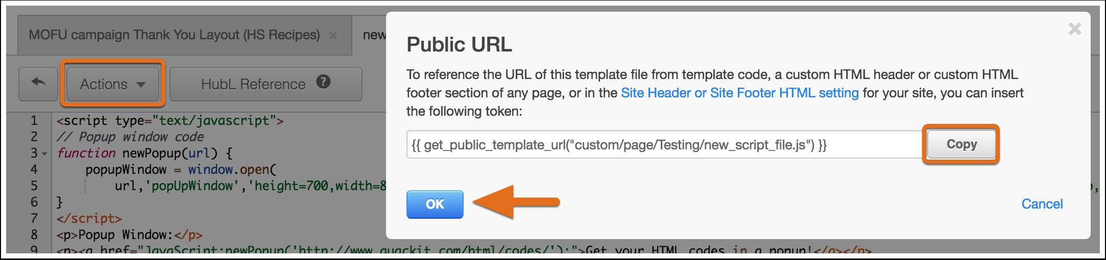 URL publica