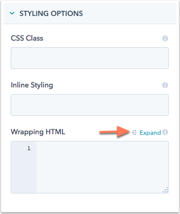 Use default modules in your template