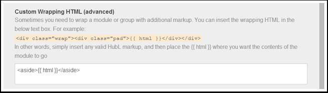 Envoltura de HTML