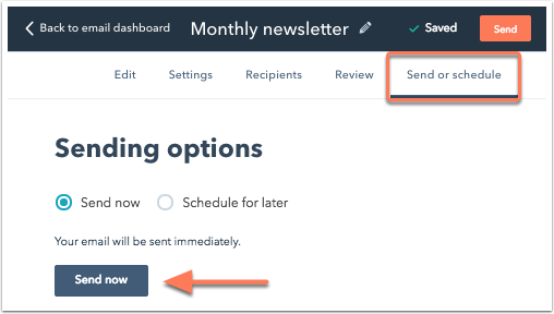 send-options-starter