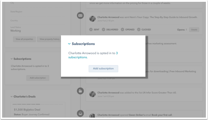 view-subscriptions-on-profile