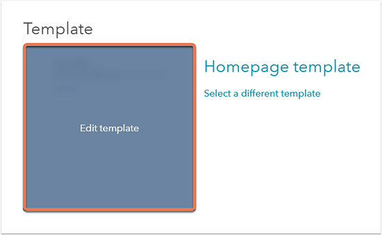 edit your blog email or page template